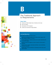 Online Chapter B The Traditional Approach to Requirements