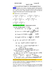 PHYSICS 002C Lecture 09