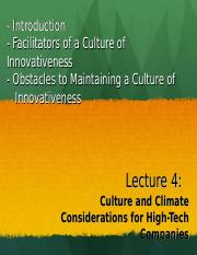 Lecture 4Culture_and_Climate_Considerations.ppt