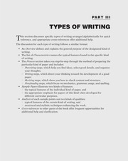 specific types of modern essay Essay topics writer's block specific types of writing writing about history writing about history written by elspeth h brown, department of history.