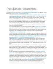 The Spanish Requirement