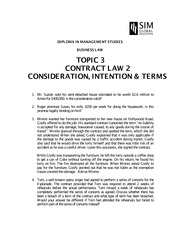 BUS015_2014_TOPIC 03_ContractLaw02_ConsiderationIntention