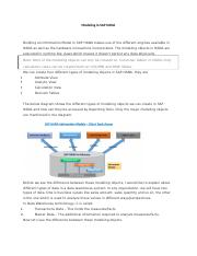 Modeling in SAP HANA.docx