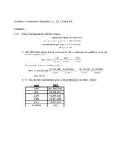 Module 4 Solutions