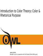 Color Theroy Presentation.ppt