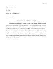 Essay 6 Eng 111 Research Paper Intro Draft