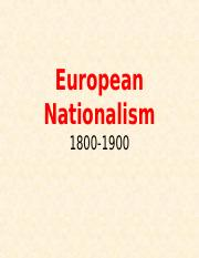 European Nationalism.ppt