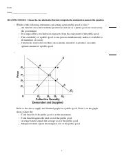 ECON 201 Chapter 4 (Answer)