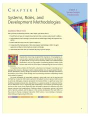 Chap01 Systems Roles and Development Methodologies