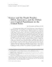 Science and the Death Penalty.pdf