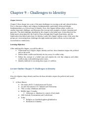 INTL 101 - Chapter 9 Summary & Study Guide.docx