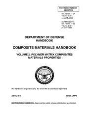 COMPOSITE MATERIALS HANDBOOK VOLUME 2 - POLYMER MATRIX COMPOSITES MATERIALS PROPERTIES