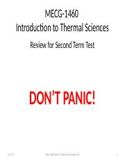 Term Test #2 Review 2017.pptx