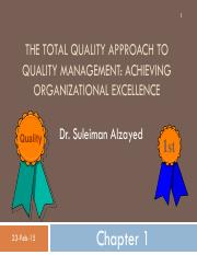 QM Chapter 1-THE TOTAL QUALITY APPROACH TO QUALITY MANAGEMENT ACHIEVING ORGANIZATIONAL EXCELLENCE.pd