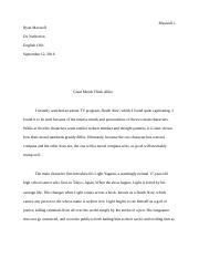 Great Minds Think Alike Assignment 2 Essay.docx