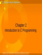 Chapter 2-Introduction to C.ppt