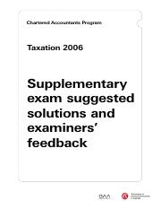 TAX106_SuppExamSolutions&Feedback.pdf