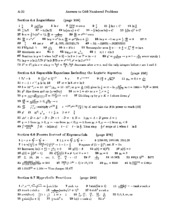 Calculus Solutions 11