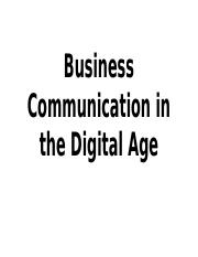 Business Communication in the Digital Age.pptx