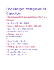 Find Charges