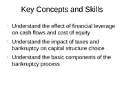 Capital Structure-Student