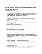 E-Business Info Notes