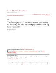 The development of computer-assisted instruction (CAI).pdf