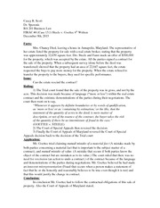 irac paper example