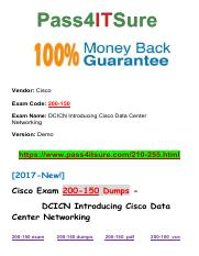 New Pass4itsure Cisco 200-150 Dumps PDF.pdf