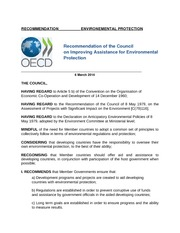 OECD Policy Class Project Paper