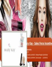Mary Kay Case Analysis_Group B
