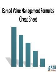 Plan Academy Earned Value Management Formulas Cheat Sheet.pdf
