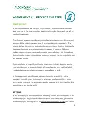 Project Charter Assignment (MGT5164)-1