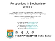 Week 6 - Numbers, Thermodynamics and Revisiting Metabolism