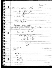 Extreme Value Theorem Notes