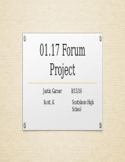 1.17 Form Project