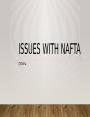 ISSUES WITH NAFTA.pptx