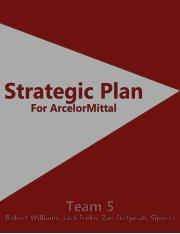 ArcelorMittal Strategic Plan (1).docx