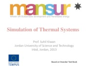 Ch04 Simulation of Thermal Systems