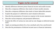 Chapter 19 (Accounting for Income Tax)