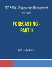 CEE 5930 -- Forecasting Part 2 - Fall 2016.pptx