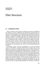 ch.9 film structure
