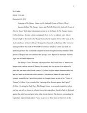 engl american literature ut arlington page course 3 pages dystopia essay