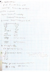 Lecture - Antiderivatives