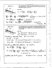 67_Mechanics Homework Mechanics of Materials Solution