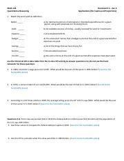 Math models applications homework help