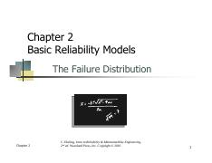 Chapter 2_Basic Reliability Models_The Failure Distribution.pdf