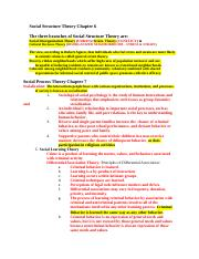criminology study guide final spring 2014