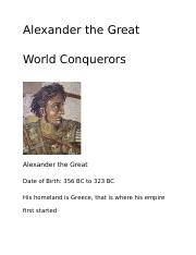 Alexander the Great trading card.docx