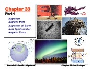Ch 33 Part1 - Magnetism